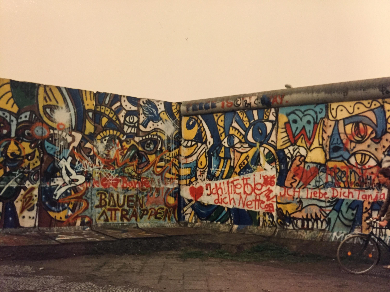 Berlin Wall Kaleidoscope Road